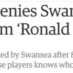 Bob Bradley is strangely certain that Swansea players don't know who Ronald Reagan is