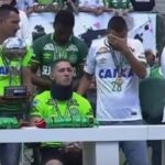 Chapecoense crash survivors receive Copa Sudamericana trophy at first match since the tragedy