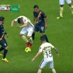 Club America's Javier Güemez momentarily forgets that he's not Cuauhtémoc Blanco