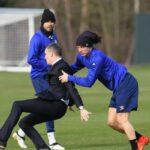 David Luiz continues to terrorize Chelsea TV reporter
