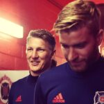 Bastian Schweinsteiger actually gets to play, scores 17 minutes into MLS debut