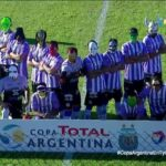 Fourth-division team arrive for Copa Argentina match wearing superhero masks, beat first-division team