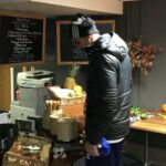 Diego Costa raided the press room buffet during halftime of Chelsea-Watford