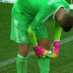 Germany's goalkeeper used a cheatsheet to beat England in U-21 Euros shootout