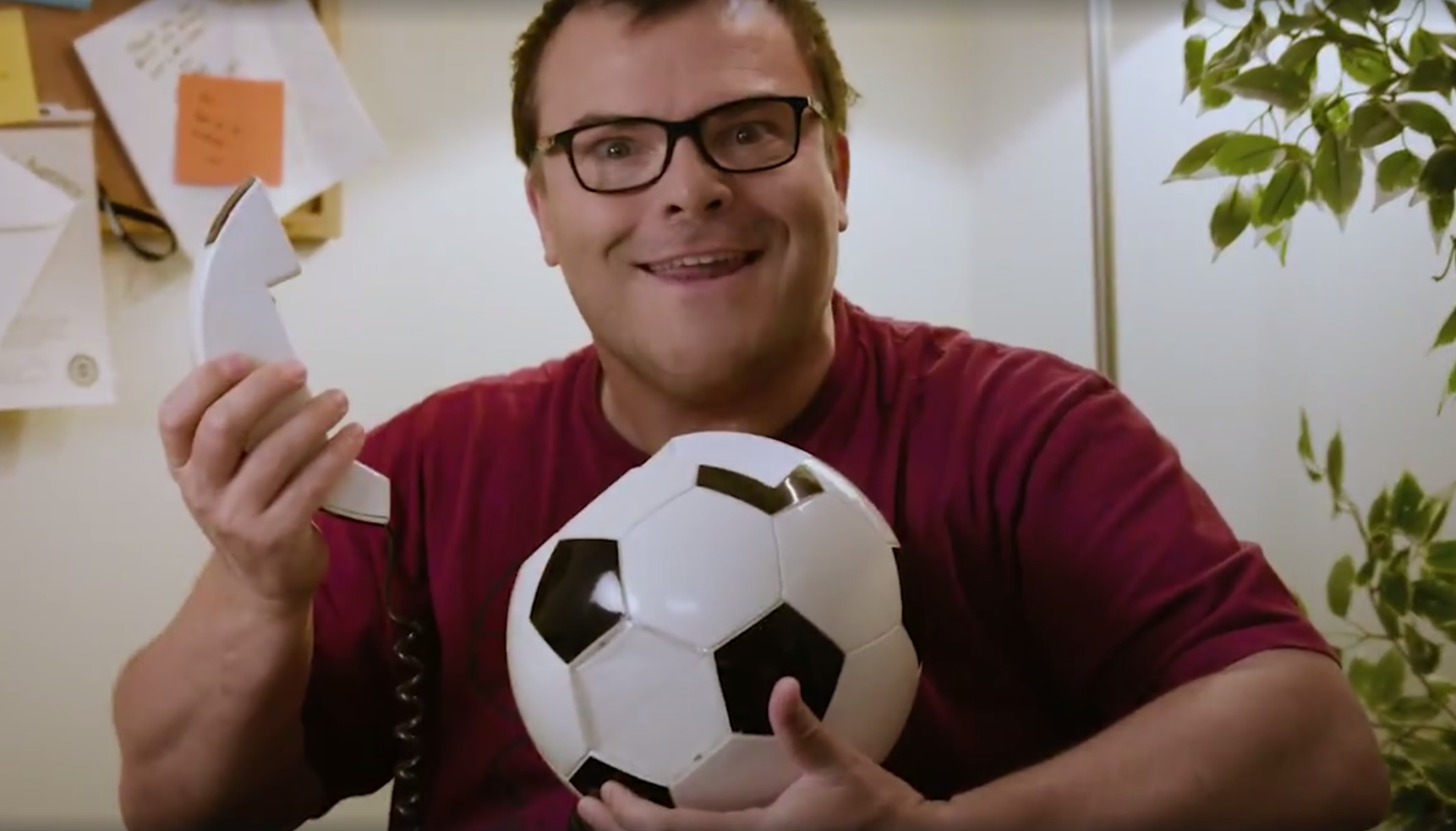 jack black soccer ball phone whatahowler