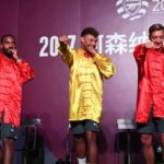 And now…Arsenal players doing kung fu in China