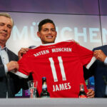 James Rodriguez joins Bayern, gets cake and Carlo Ancelotti's affection