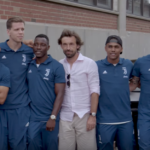 Andrea Pirlo shows Juventus where he goes food shopping in New York