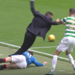 In Scotland, even pundits and managers are susceptible to vicious tackles