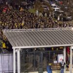 Why were all these Crew fans standing in line as a playoff game kicked off last week?