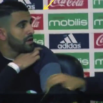 Riyad Mahrez had to sit beside Algeria manager's unhinged press conference outburst