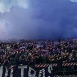 Thousands of Fiorentina supporters gather outside Davide Astori's funeral to give him a spine-tingling send off