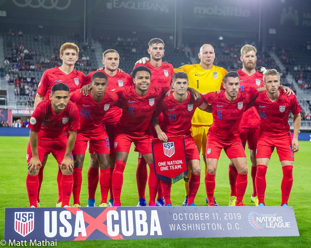USA vs Cuba: In Pictures